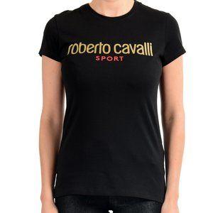 "Roberto Cavalli ""Sport"" Women's Black T-Shirt"